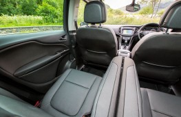 Vauxhall Zafira Tourer, rear seats
