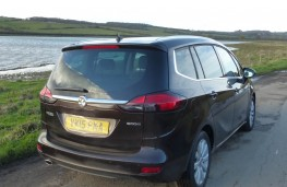 Vauxhall Zafira Tourer, rear static