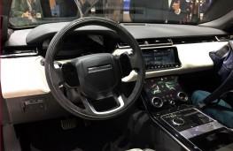 Range Rover Velar, interior, Geneva Motor Show 2017
