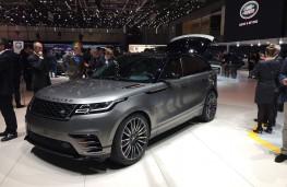 Range Rover Velar, side, Geneva Motor Show 2017