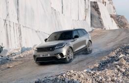 Range Rover Velar, 2017, front, action