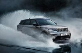Range Rover Velar, 2017, front, water splash