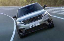 Range Rover Velar, 2017, front, action, track