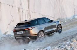 Range Rover Velar, 2017, rear, snow