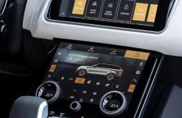 Range Rover Velar P400e, 2021, display screen