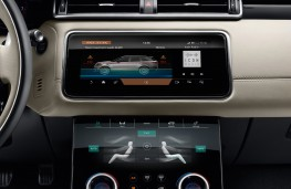 Range Rover Velar, 2017, display screens, 3