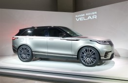 Range Rover Velar reveal, 2017, side