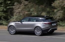 Range Rover Velar, 2017, side, action