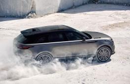 Range Rover Velar, 2017, side, snow