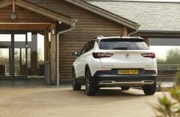 Vauxhall Grandland X Hybrid4, 2020, rear