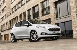 Ford Fiesta Vignale, 2018, front