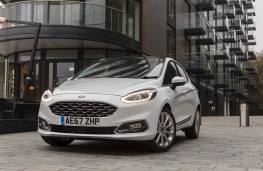 Ford Fiesta Vignale, 2018, front, parked