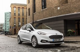Ford Fiesta Vignale, 2018, front, street, static
