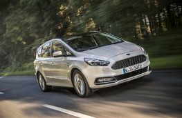 Ford S-MAX Vignale, front, action