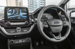 Ford Fiesta Vignale, 2018, interior, auto