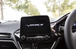 Ford Fiesta Vignale, 2018, display screen