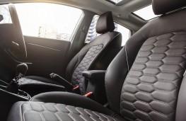 Ford Fiesta Vignale, 2018, seats