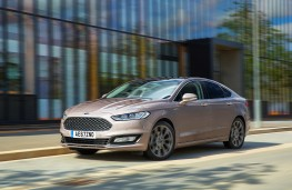 Ford Mondeo Vignale, 2017, front
