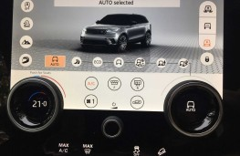 Range Rover Velar, 2017, virtual buttons