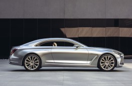Hyundai Vision G Coupe Concept, side