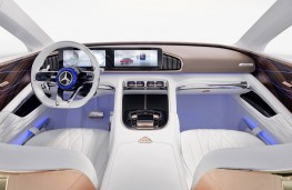Vision Mercedes-Maybach Ultimate Luxury cockpit