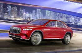 Vision Mercedes-Maybach Ultimate Luxury front action