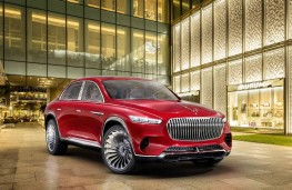 Vision Mercedes-Maybach Ultimate Luxury front