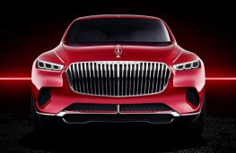 Vision Mercedes-Maybach Ultimate Luxury head on