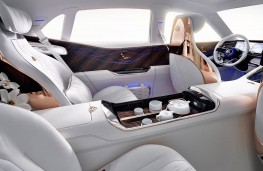 Vision Mercedes-Maybach Ultimate Luxury interior