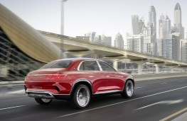 Vision Mercedes-Maybach Ultimate Luxury rear action