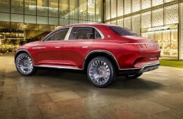 Vision Mercedes-Maybach Ultimate Luxury rear threequarter