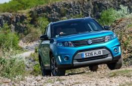 Suzuki Vitara, 2016, front, off road