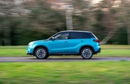 Suzuki Vitara, 2020, side, action