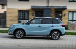 Suzuki Vitara, 2019, side, action