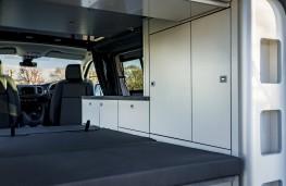 Vauxhall Vivaro Campervan, 2020, bed