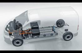 Vauxhall Vivaro-e HYDROGEN, 2021, cutaway