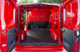 Vauxhall Vivaro, load space