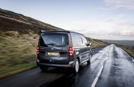 Vauxhall Vivaro Campervan, 2020, rear, action