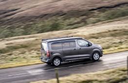 Vauxhall Vivaro Campervan, 2020, side, action