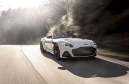 Aston Martin DBS Superleggera Volante, 2019, front