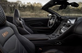 Aston Martin DBS Superleggera Volante, 2019, interior