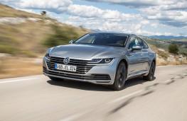 Volkswagen Arteon Elegance front action