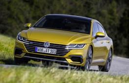 Volkswagen Arteon R-Line front action