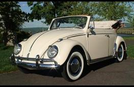 Volkswagen Beetle Cabriolet open top