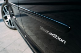 Volkswagen Caddy Black Edition badge