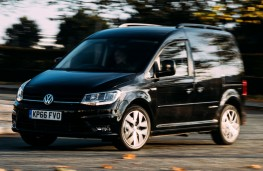 Volkswagen Caddy Black Edition front