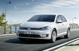 Volkswagen e-Golf 2017 front action