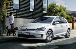 Volkswagen e-Golf 2017 front static