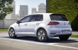 Volkswagen e-Golf 2017 rear static