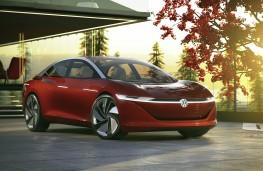 Volkswagen ID Vizzion front